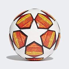 Idea Regalo - adidas Finale Mini Ball da Uomo, Parte Superiore: Bianco/Rosso Scarlatto Fondo: Arancione/Oro Solare/Nero, 1