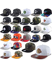 47 Brand Berretto da Baseball Chicago Blackhawks Dallas Stelle Los Angeles  Kings New York Rangers NHL Uvm Uomo Donna Cappello Berretto… a1d448bcd6b4