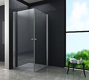 echt glas 8 mm duschkabine duschabtrennung dusche. Black Bedroom Furniture Sets. Home Design Ideas