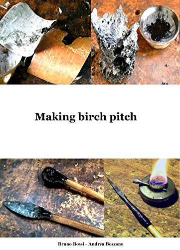 Making birch pitch (Medieval Technical Manuals Vol. 6) (Italian Edition)