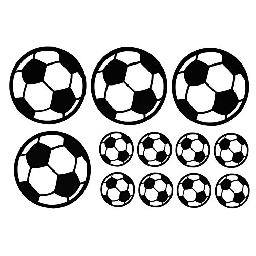 Abnehmbare Sport Fußball Fußball Ball Wandaufkleber Kunst Vinyl Aufkleber Kindergarten Hause Kinder Kinderzimmer Schlafzimmer Dekor ()