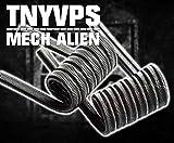 original handmade Alien Wire Coil Mech Mod TNYVPS Doppelpack made in Germany 0,07 Ohm