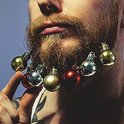 Locisne-Bunt-12-Mini-Beard-Christbaumkugeln-Dekorationen-Kugeln-mit-Haarnadeln-Neuheit-Spa-Festliches-Geschenk-fr-Weihnachten