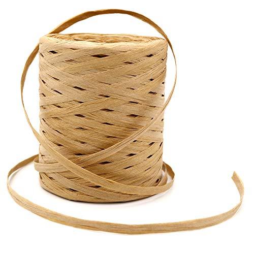 200 M Bast Band, 1/4 Zoll Handwerk Raffia Paper Schnur, Craft Verpackung Papier Bindfäden -
