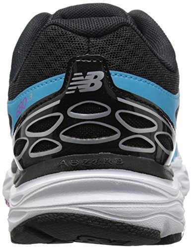 New Balance Women's W680V3 Running Shoe, Bayside/Navy, 10 B US Bayside/Navy