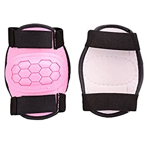 Boys Girls Childs Roller Skating Skateboard BMX Scooter Cycling Protective Gear Pads (Knee pads+Elbow pads+wrist pads)