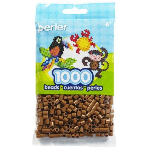 Perler Perlen-Set, 1000 Stück, hellbraun Perler Perlen Zubehör