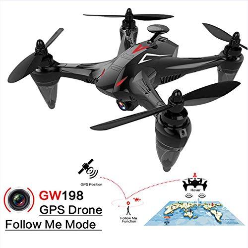 SEXTT Drohne mit 1080p HD RC Quadcopter-Kamera, Live-Video und GPS-Heimkehr mit bürstenlosem Motor, Follow-Me, WiFi-Übertragung, kompatibel