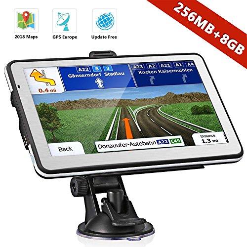 Navtour GPS Voiture Auto Véhicule d'europe 7 Pouces 49 Pays...