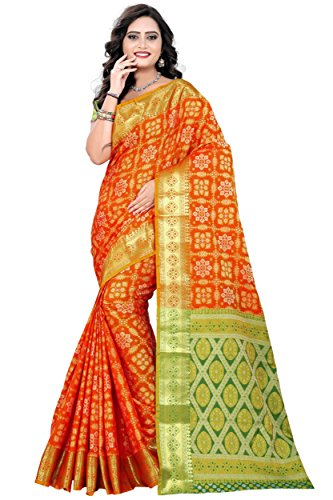 Rutrang Women's Party Wear Patola Saree - Highest Quality Design and Banarasi...