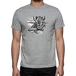 Camiseta de Hombre Mazinger Z Anime Gris (Varios Colores)