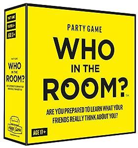 Who in the room? Que en la habitación? 21033¿Está Dispuesto A Aprender lo Que Realmente Tus Amigos Think About You Tarjeta Juego