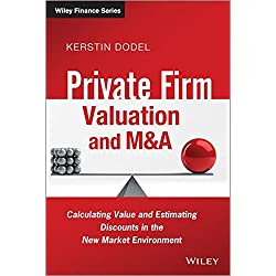 Private Firm Valuation and M&A - Calculating Valueand Estimating Discounts in the New Market Environment (The Wiley Finance Series)