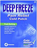 Well Patch Deep Freeze Cold Patches Cooling Therapy for Sprains, Strains & Muscle Pain - 4