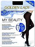 GOLDEN LADY My Beauty 50 Collant, 50 DEN, Nero 099A, X-Large (Taglia Produttore:5 - XL) Donna