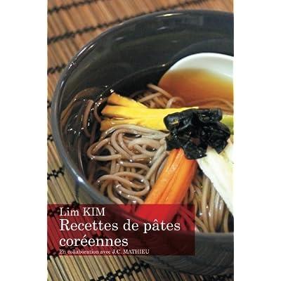 Recettes de pâtes coréennes