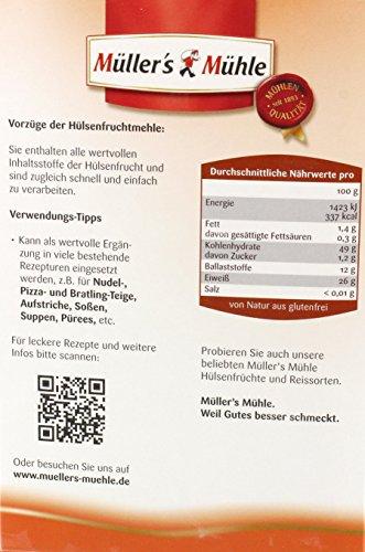 Müller's Mühle – Rote Linsen Mehl – 400g - 2