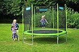 Hudora Trampolin Familien 300 cm  - grün