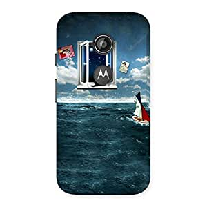 Special Water Wonder Back Case Cover for Moto E 2nd Gen