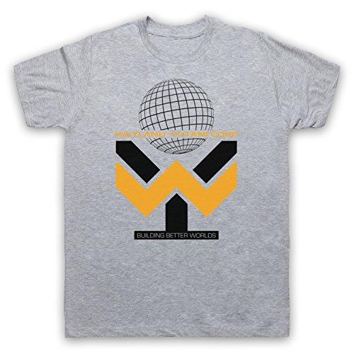 Inspiriert durch Alien Prometheus Weyland Yutani Unofficial Herren T-Shirt Grau