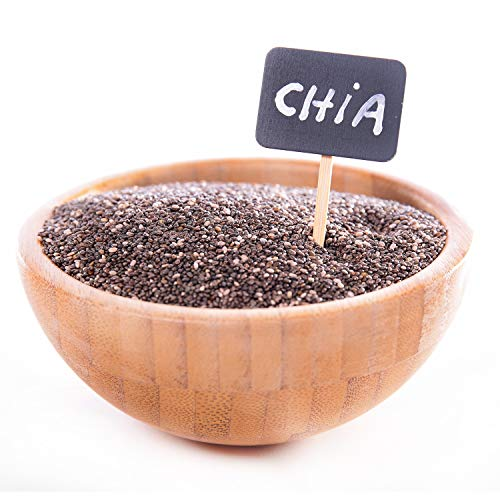 Bio Chia Samen / Chiasamen schwarz (Salvia Hispanica) 1kg Südamerika