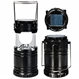 Home pro LED Solar Light Lantern Black