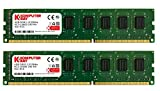 Komputerbay 8GB (2X4GB) DDR3 DIMM (240 pin) 1333Mhz 9-9-9-25 1.5V PC3-10600/PC3-10666 8 GB KIT