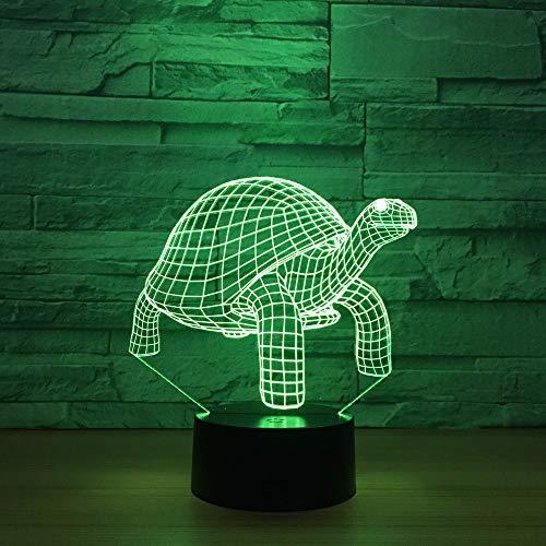 Turtles Kleines Nachtlicht Acryl 3d Bunte Nachtlampe CustomControl Basis Kreative Leuchten (Switch Custom Light)