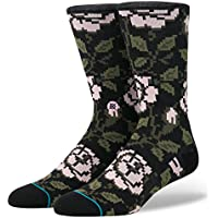 Stance Rosie Everyday Crew Socks - Black Large