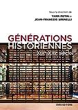 Générations historiennes XIXe-XXIe siècle