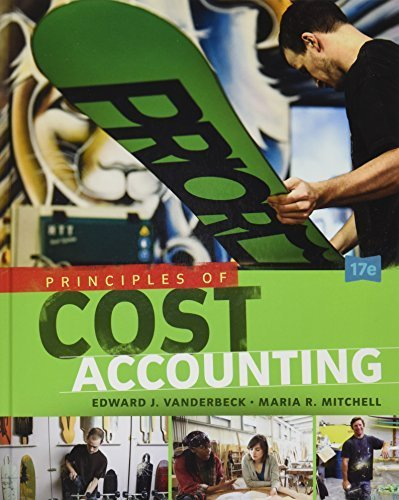 Bundle: Principles of Cost Accounting, 17th + LMS Integrated for CengageNOW(TM), 1 term Printed Access Card by Edward J. Vanderbeck (2015-07-30)