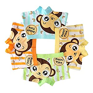 Usex Sense 12 Pack Bóxers – para niño Calzoncillos Tamaño 1-11 años