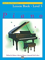 Alfred's Basic Piano Lesson Book 5 --- Piano - Palmer, Manus & Lethco --- Alfred Publishing