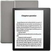 """Liseuse Kindle Oasis - Graphite, Résistante à l'eau, Écran haute résolution 7"""" (17,7 cm) 300 ppp,  8 Go Wi-Fi"""