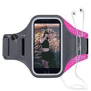 Brassard Sport Armband : Le brassard sport s'adapte à la plupart des smartphones jusqu'à 5,2 pouces. ------------------------------ Caractéristiques:  CE-Link brassard sport resistant à la sueur est la solution parfaite pour vous garder les mains lib...