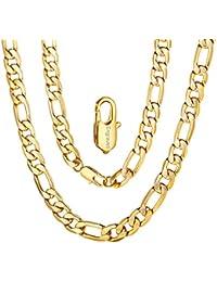 2aa6e117f352 ChainsPro 6 7.5 9 MM Collar Fígaro 3 1 Tallado