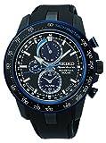 Seiko Herren-Armbanduhr Chronograph Quarz Plastik SSC429P1