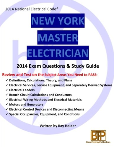 New York 2014 Master Electrician Exam Questions and Study Guide