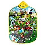 YIQU Musikalischer Teppich für Kinder. Mit Transportspiel und Klavier. Bildungsfunktionen.