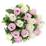 Soledì Rose Finte per Decorazioni Interno Matrimonio Fiori Artificiali 18 Rose