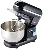 Savisto 800w Retro Food Stand Mixer With 5.5L Bowl, Splash Guard, Dough Hook
