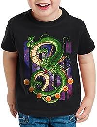 style3 Shenron Dragon T-Shirt pour enfants shenlong sacré Z goku vegeta roshi ball