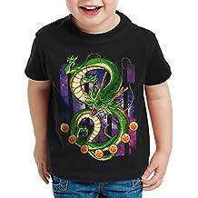 style3 Shenlong Dragón Camiseta para Niños T-Shirt Shenron Z Goku Vegeta ...
