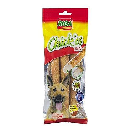 RIGA Chick'os Big Friandises pour chien - Sachet 160 g - Par 3