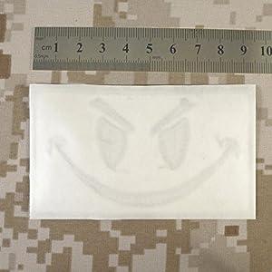 Multicam Black Smiley Evil Angry Morale Tactical Militaire Milspec Tactical ISAF SWAT Sew Thermocollant Écusson Patch
