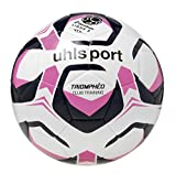 uhlsport – triomphèo Club Training – Excellent Performance Hand Stitched Football – White/Navy/Fuchsia