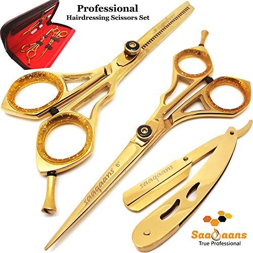 Saaqaans SSS-02 Tijeras Peluquería Barbero Profesional