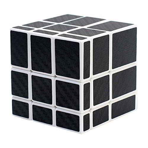 COOJA Mirror 3x3 Espejo Magico, Speed Cube Cubo Magico Cubo Carbono Pegatina Cube Puzzle 3D Cubos Juguete