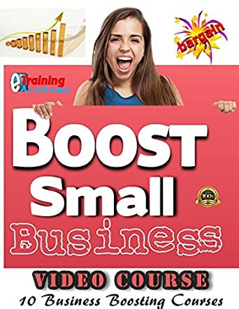 Boost Small Business Video Course Package - *Power pack for Business Growth with 10 Courses and More than 150 Videos to help you boost your small business - **A must for Start Up and those looking to GROW BUSINESS- ***LEARN to INCREASE SALE & REVENUE of Your Product or Services