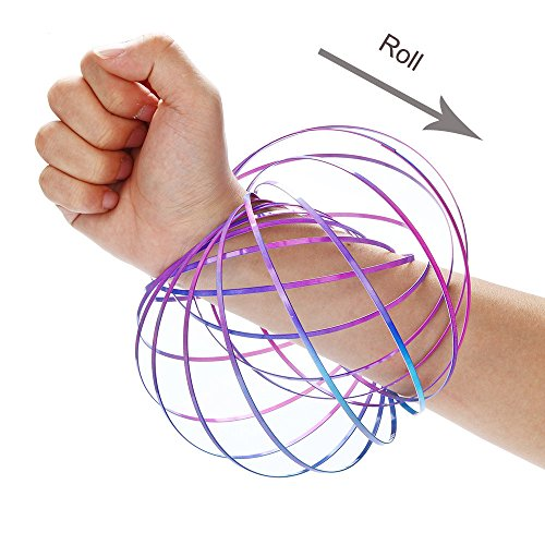 Vovotrade® Magic Flow Rings Energie Kinetic Printemps Jouet Sensitive  Interactive Nouveauté Jouets Cool Rings Energy a71af4d83b7